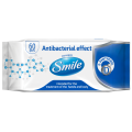 Smile Wet Wipes stockphoto