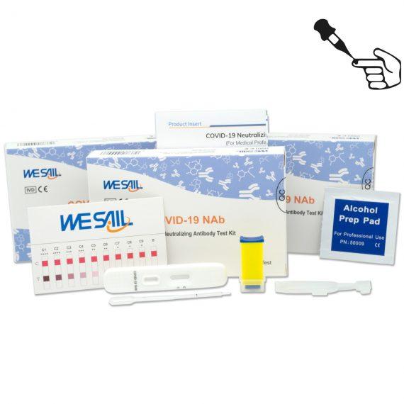 Wesail Vaccinatie Antistoffen Test